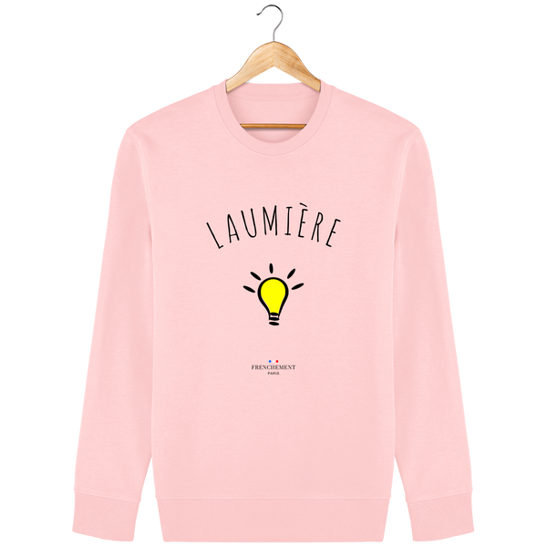 LAUMIÈRE | SWEAT UNISEXE BIO - Frenchement