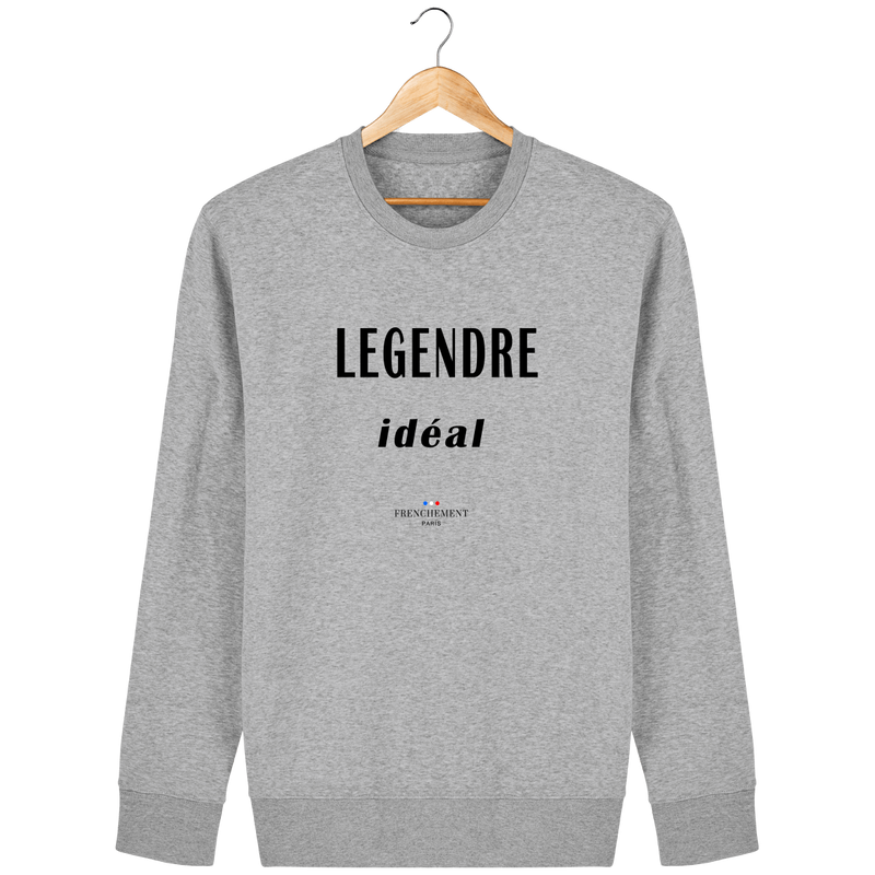 LEGENDRE IDÉAL | SWEAT UNISEXE BIO - Frenchement