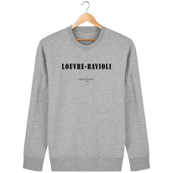 LOUVRE-RAVIOLI | SWEAT UNISEXE BIO - Frenchement