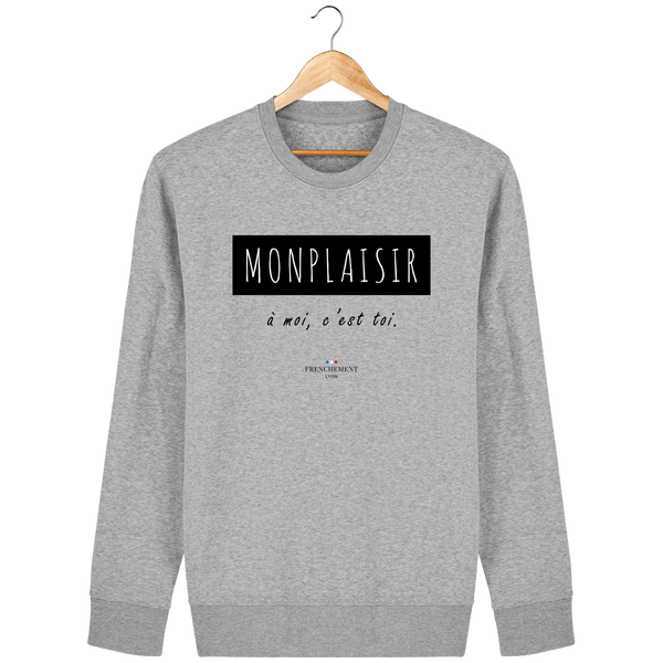 MONPLAISIR | SWEAT UNISEXE BIO - Frenchement