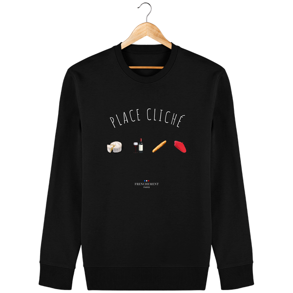 PLACE CLICHÉ | SWEAT UNISEXE BIO - Frenchement