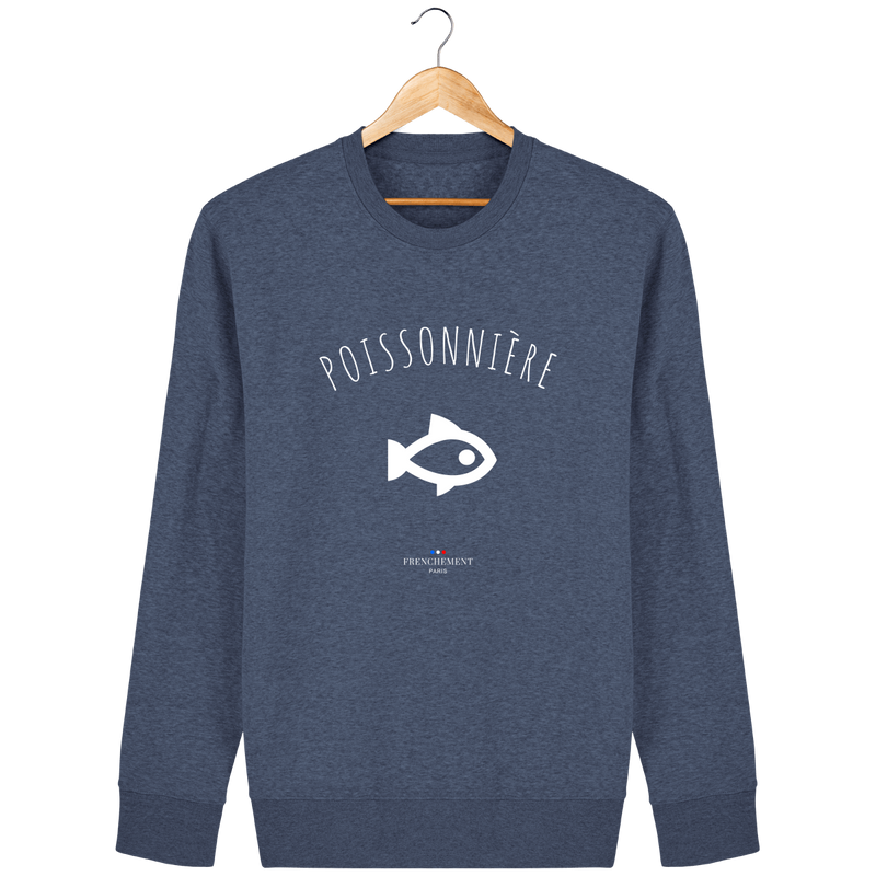 POISSONNIÈRE | SWEAT UNISEXE BIO - Frenchement