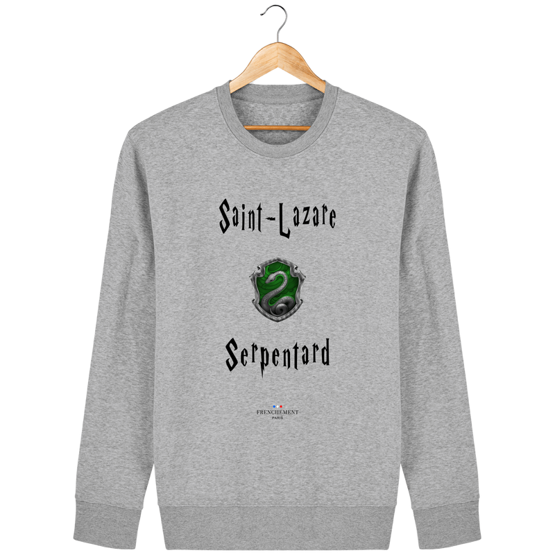 SAINT-LAZARE SERPENTARD | SWEAT UNISEXE BIO - Frenchement