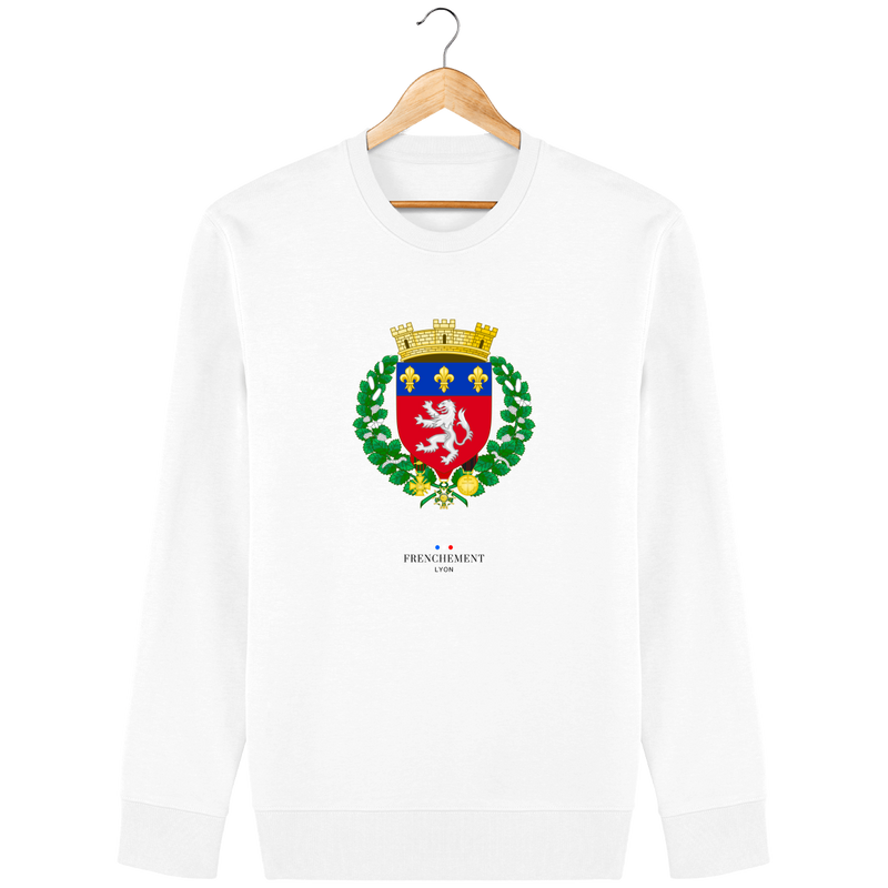 VIRTUTE DUCE, COMITE FORTUNA | SWEAT UNISEXE BIO - Frenchement