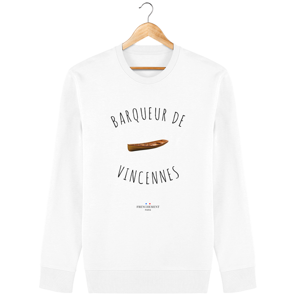 BARQUEUR DE VINCENNES | SWEAT UNISEXE BIO - Frenchement
