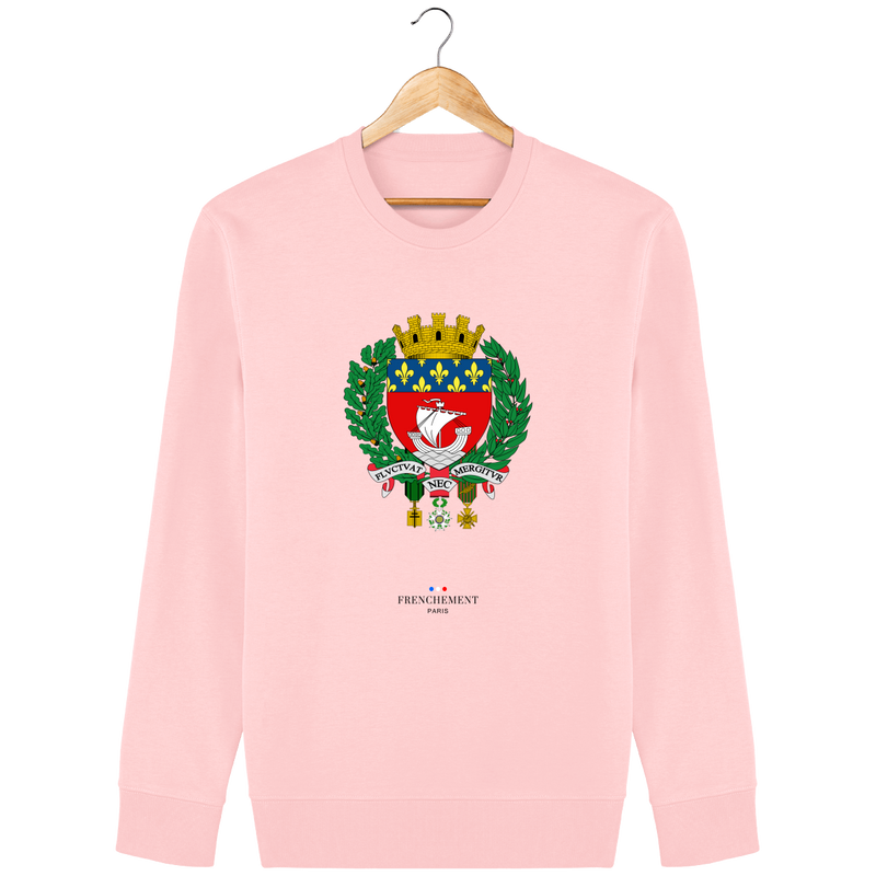 FLUCTUAT NEC MERGITUR | SWEAT UNISEXE BIO - Frenchement