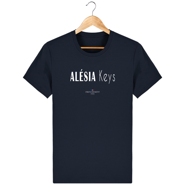 ALÉSIA KEYS | T-SHIRT HOMME BIO - Frenchement