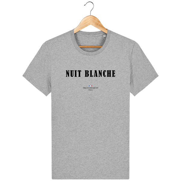 NUIT BLANCHE | T-SHIRT HOMME BIO - Frenchement