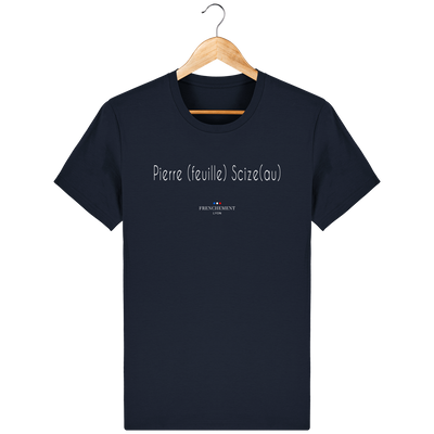 PIERRE SCIZE | T-SHIRT HOMME BIO - Frenchement