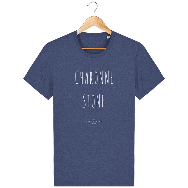 CHARONNE STONE | T-SHIRT HOMME BIO - Frenchement