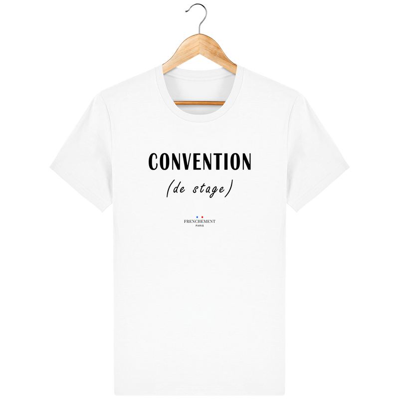 CONVENTION DE STAGE | T-SHIRT HOMME BIO - Frenchement