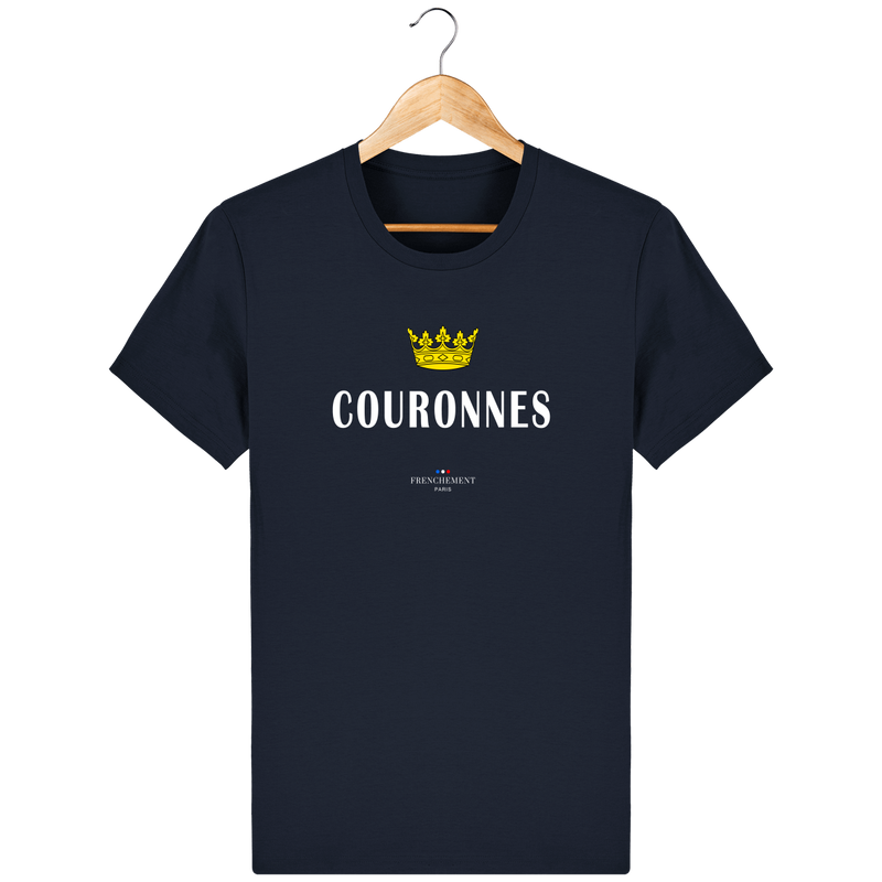COURONNES | T-SHIRT HOMME BIO - Frenchement