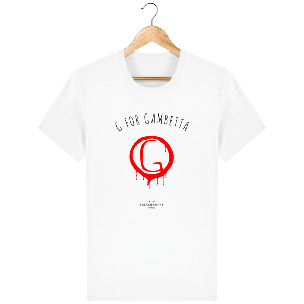 G FOR GAMBETTA | T-SHIRT HOMME BIO - Frenchement