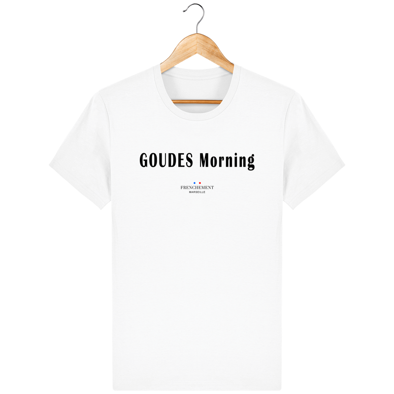 GOUDES MORNING | T-SHIRT HOMME BIO - Frenchement