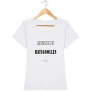 Monsieur Batignolles | T-shirt Femme Frenchement Bio