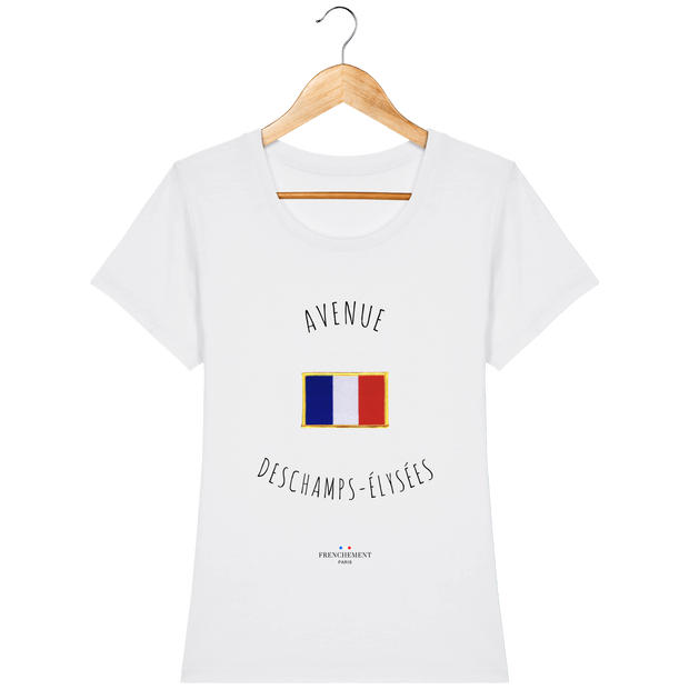 Avenue Deschamps-Elysées | T-shirt Femme Frenchement Bio