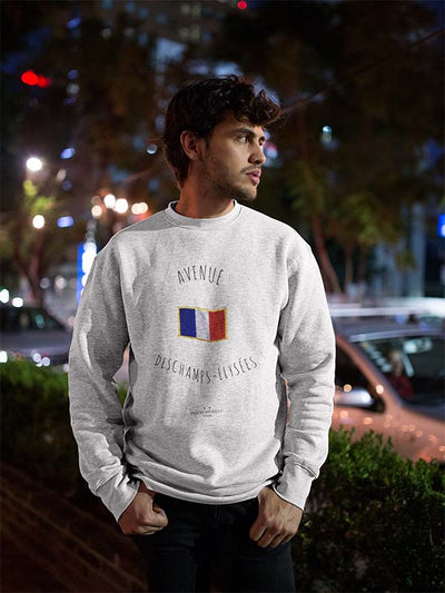 Avenue Deschamps-Elysées | Sweat Unisexe Frenchement Bio