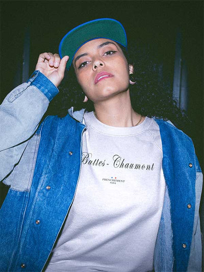 Buttes-Chaumont | Sweat Unisexe Frenchement Bio