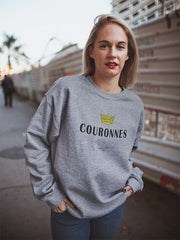 Couronnes | Sweat Unisexe Frenchement Bio