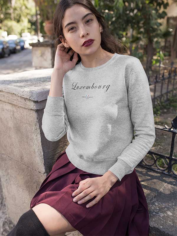 Luxembourg | Sweat Unisexe Frenchement Bio