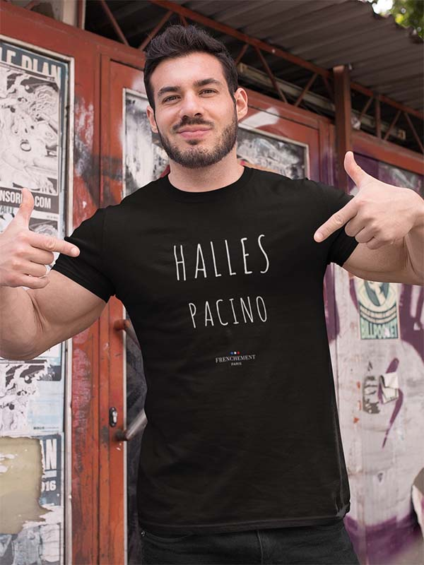 Halles Pacino | T-shirt Homme Frenchement Bio