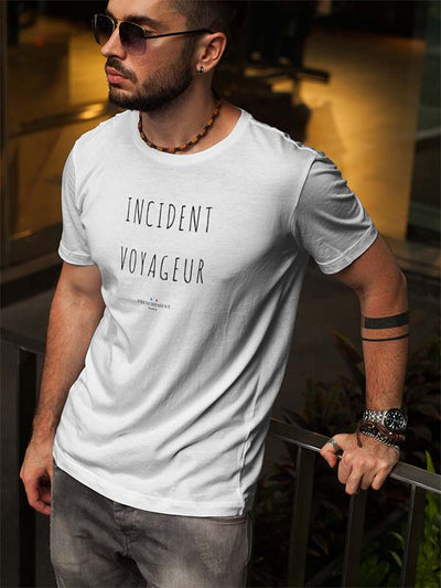 Incident voyageur | T-shirt Homme Frenchement Bio