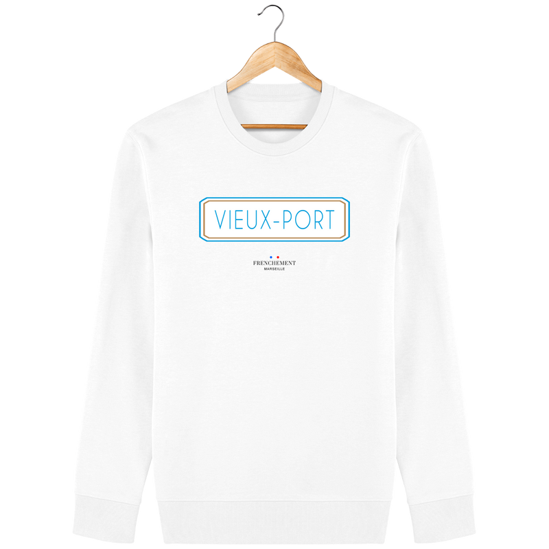 VIEUX-PORT | SWEAT UNISEXE BIO - Frenchement