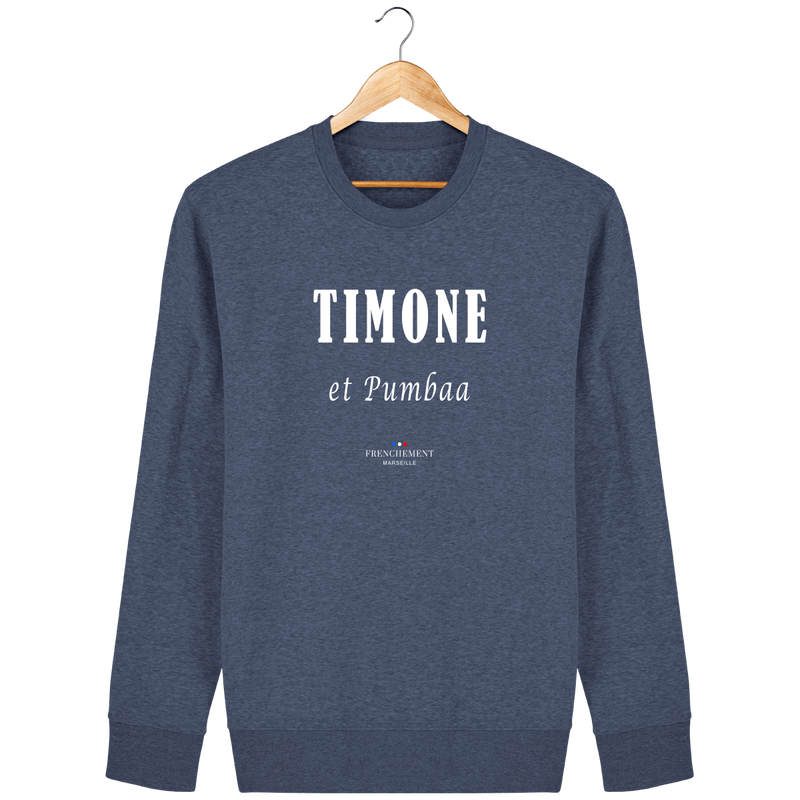 TIMONE ET PUMBAA | SWEAT UNISEXE BIO - Frenchement