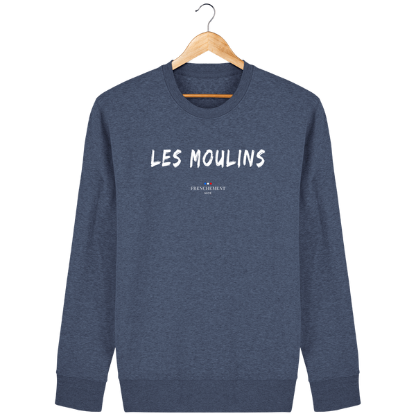 LES MOULINS | SWEAT UNISEXE BIO - Frenchement