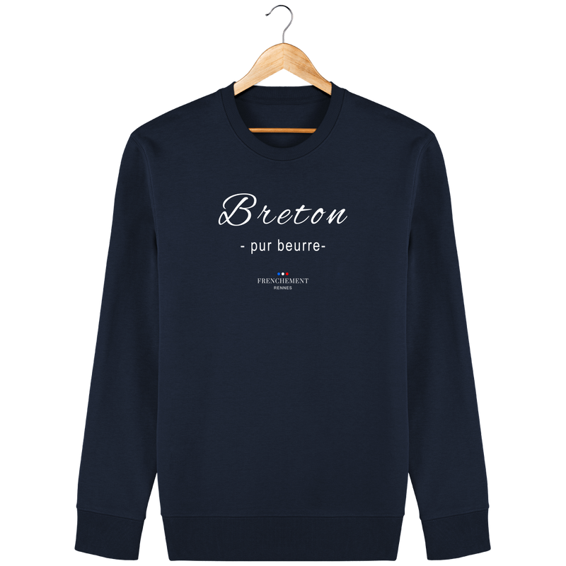 BRETON PUR BEURRE | SWEAT UNISEXE BIO - Frenchement