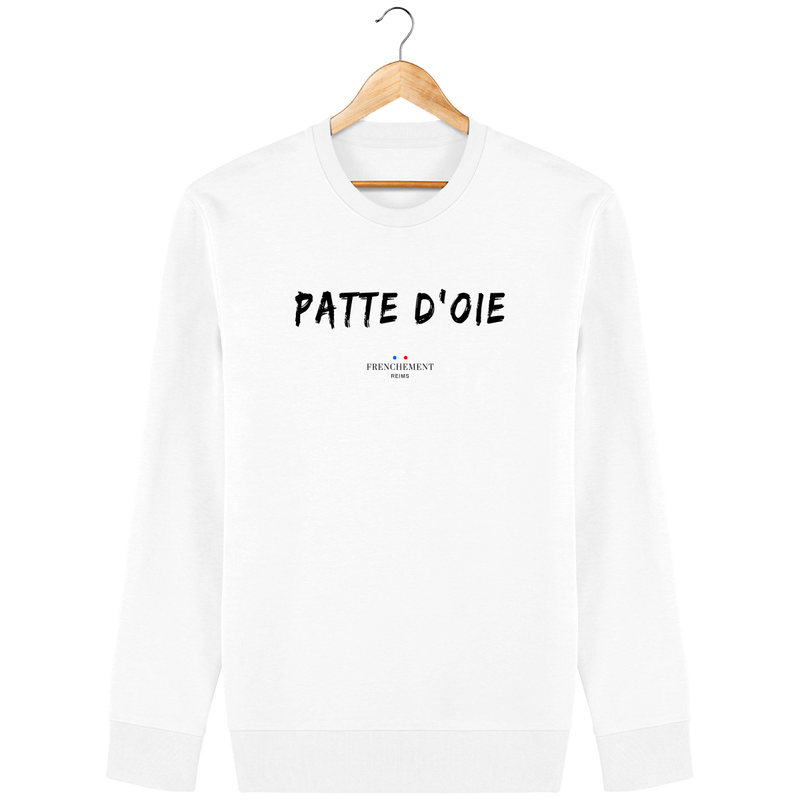 PATTE D'OIE | SWEAT UNISEXE BIO - Frenchement