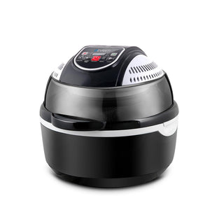 10L 6 Function Convection Air Fryer- Black - Factory To Home - Appliances