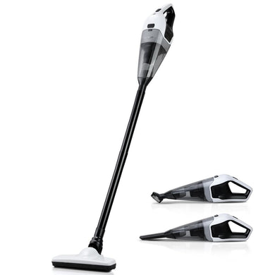120W Handheld Cordless Stick Vacuum Cleaner (Rechargeable) - Black - Factory To Home - Appliances