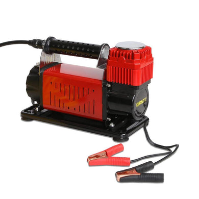 12V Portable Air Compressor - Red - Factory To Home - Tools