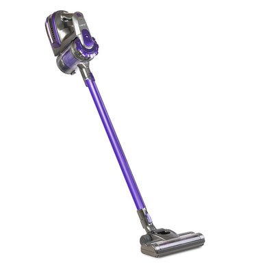150 Cordless Stick Vacuum Cleaner (2 Speed) - Purple And Grey - Factory To Home - Appliances