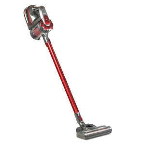 150 Cordless Stick Vacuum Cleaner (2 Speed) - Red And Grey - Factory To Home - Appliances