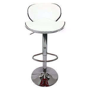 2 X Bela Bar Stool White - Factory To Home - Furniture