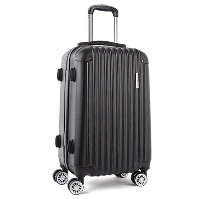 20inch Lightweight Hard Suit Case Luggage Black - Factory To Home - Home & Garden