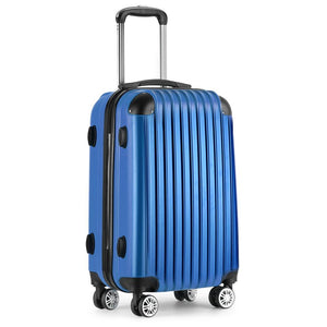 20inch Lightweight Hard Suit Case Luggage Blue - Factory To Home - Home & Garden