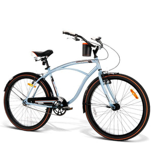 26 Inch City Bike - Blue - Factory To Home - Sports & Fitness