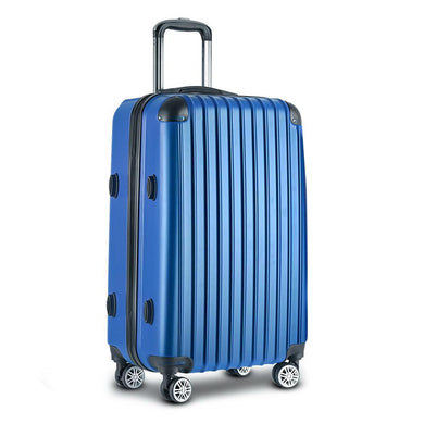 28inch Lightweight Hard Suit Case Luggage Blue - Factory To Home - Home & Garden