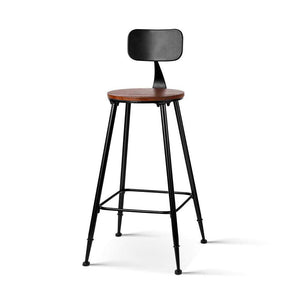 2x Vintage Bar Stools ALEX Retro - Factory To Home - Furniture