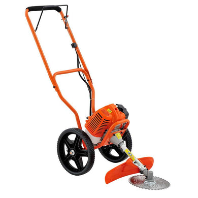 3 in 1 Wheeled Trimmer - Orange - Factory To Home - Home & Garden