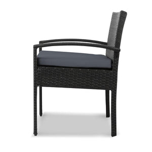 3-piece Outdoor Set - Black - Factory To Home - Furniture