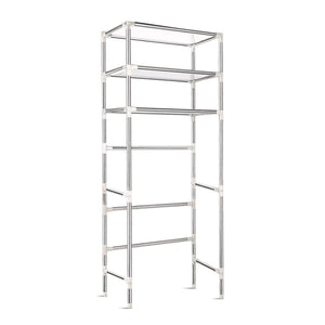 3 Tier Bathroom Storage Rack - Silver - Factory To Home - Home & Garden