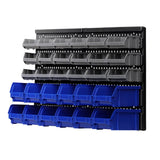 30 Bin Wall Mounted Storage Rack - Factory To Home - Home & Garden