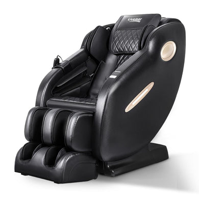 3D Electric Shiatsu Massage Chair - Full Body Zero Gravity - Black - Factory To Home - Health & Beauty