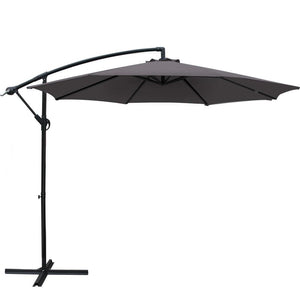 3M Garden Umbrella - Charcoal - Factory To Home - Furniture