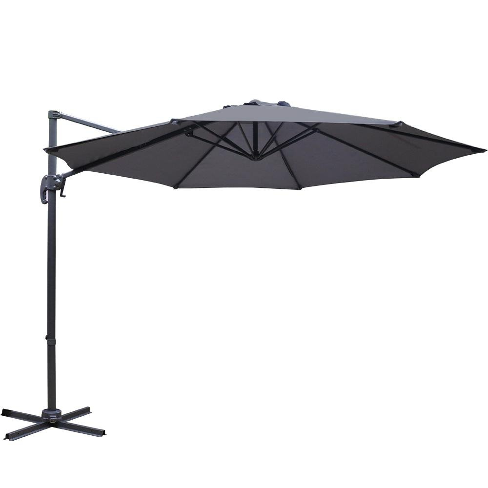 3M Roma Outdoor Umbrella - Charcoal - Factory To Home - Furniture