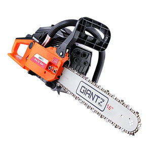45CC Petrol Chainsaw E-Start - Black - Factory To Home - Tools